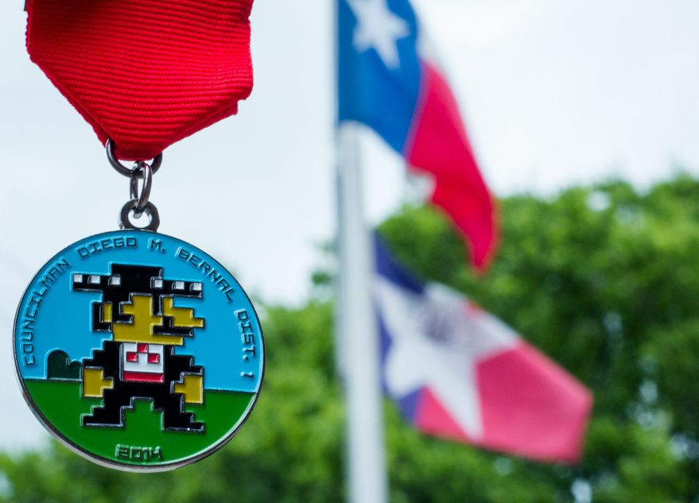 Diego Bernal Fiesta Medal 2014