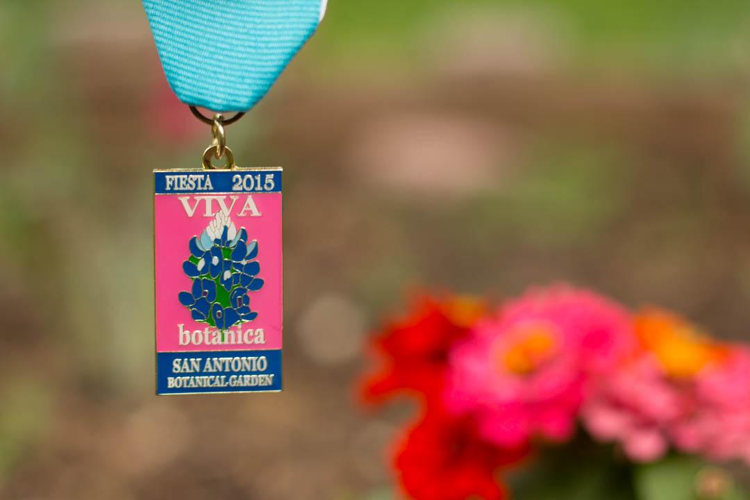San Antonio Botanical Garden 2015 Fiesta Medal Fiesta Medals Sa