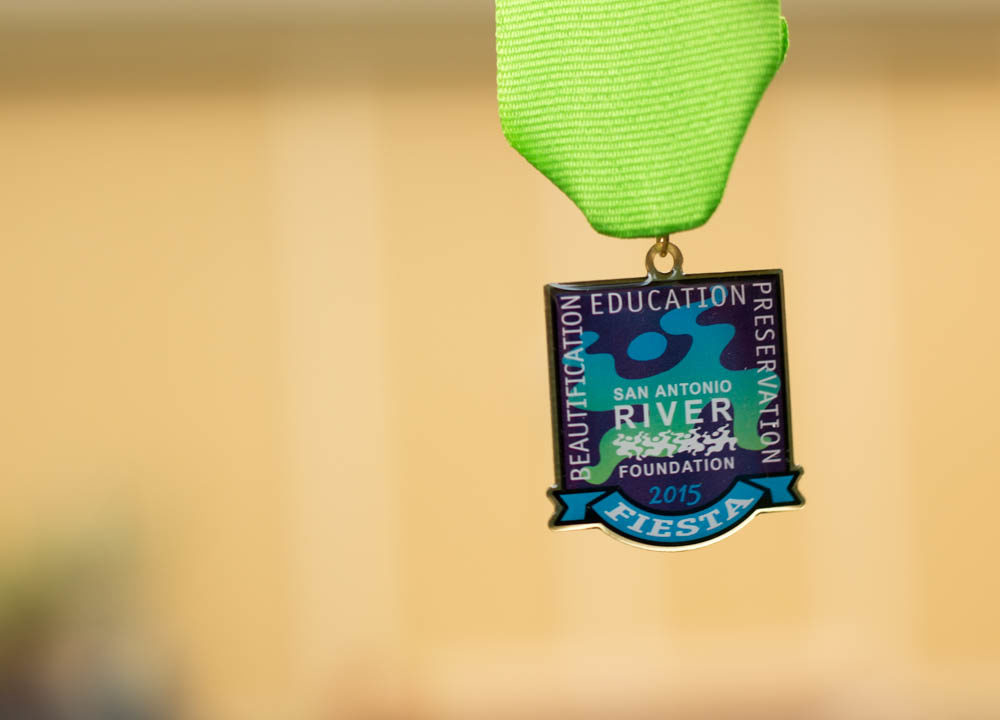 SA River Foundation 2015 Fiesta Medal