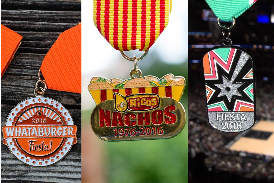 2016 Fiesta Medal Favorites Larger Business Medals