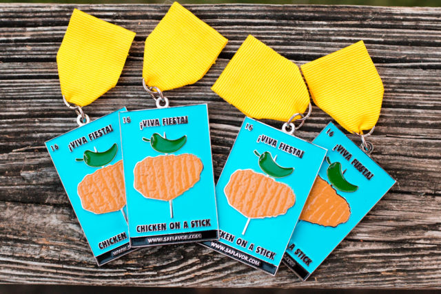 Chicken on a Stick 2016 Fiesta Medal SA Flavor-1