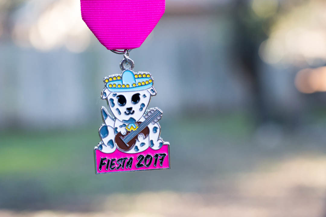 Mariachi Fiesta Dog 2017 Medal by 5th Grader Gaby Montelongo