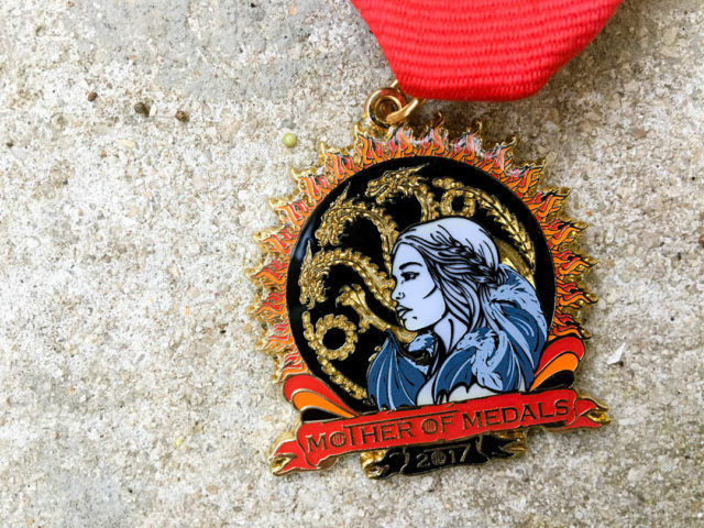 Christina Lumbreras Mother of Dragons Fiesta Medal 2017