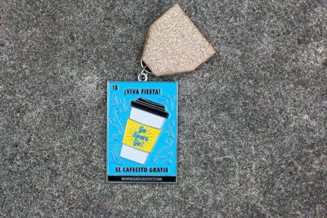 El Cafecito Gratis Lotería Fiesta Medal 2018 SA Flavor -1