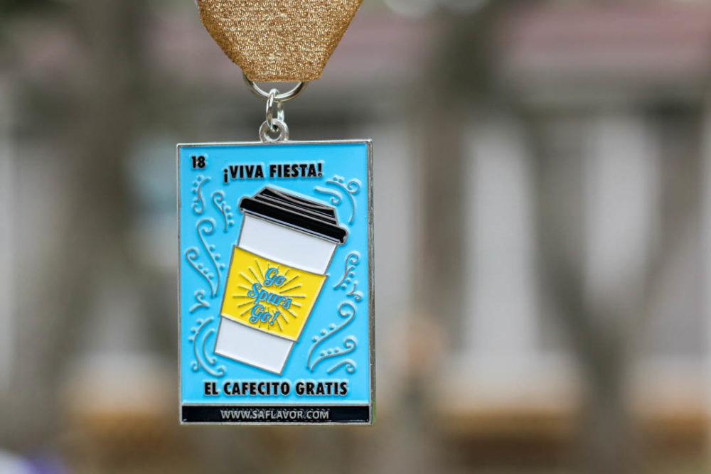 El Cafecito Gratis Lotería Fiesta Medal 2018 by SA Flavor