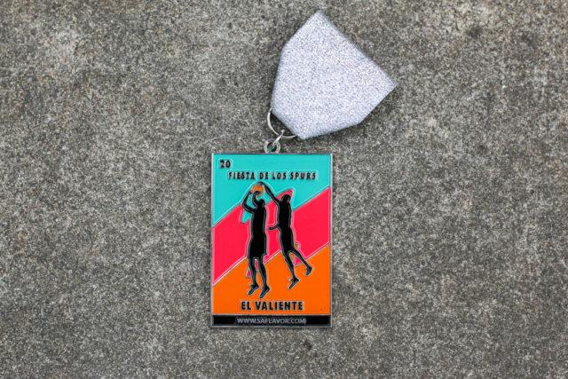 El Valiente SA Flavor Spurs Fiesta Medal 2018-1