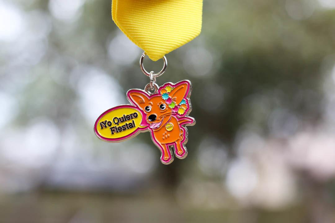 Yo Quiero Fiesta Chihuahua Fiesta Medal 2018 by Geneva Baker