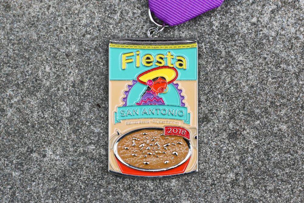 Rosarita Fiesta Medal 2018 by Roxanne Quintero