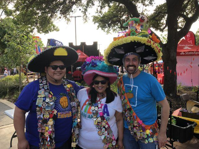 SA Flavor Fiesta Medal Creators Tony and Amanda Infante