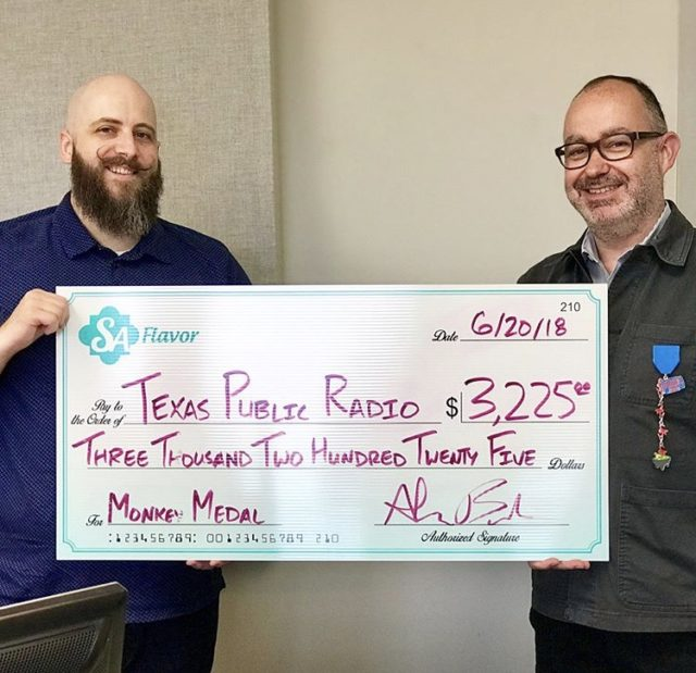 TPR SA Flavor Fiesta Medal Donation