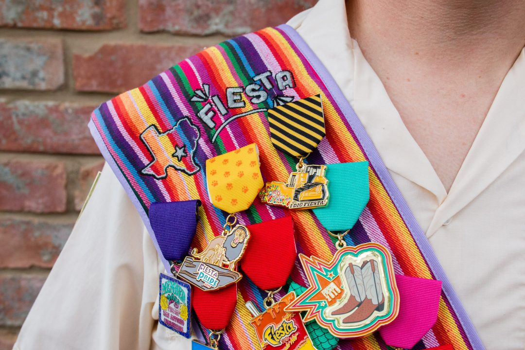 How To Pin Fiesta Medals on Fiesta Sash