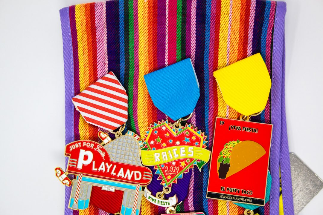 Fiesta Medal Sash How To Fiesta Medal Back 2019 SA Flavor-2