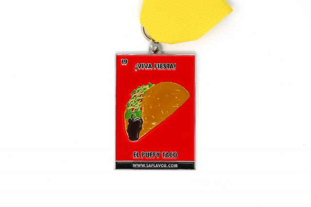 SA Flavor Food Lotería Fiesta Medal Collection