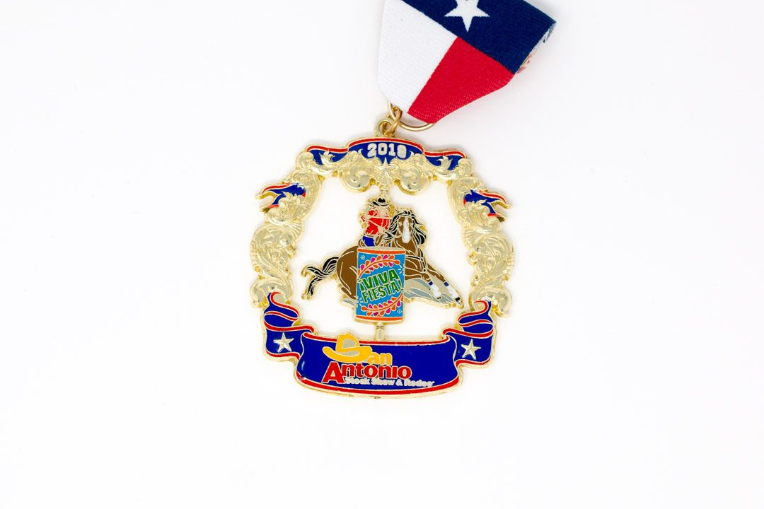 SA Stock Show and Rodeo Fiesta Medal 2019