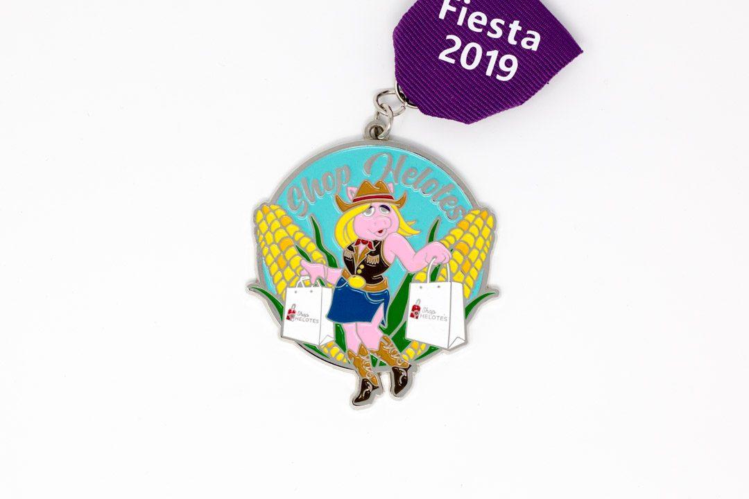 Shop Helotes Ms Piggy Fiesta Medal 2019